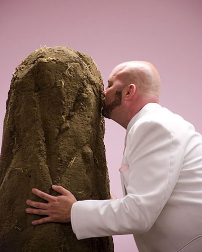 Stephen Miller. Dirt Wedding, 2005. Photo by Susan Robb.