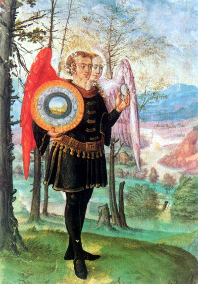 "Illustration from S. Trismosin, ""Splendor Solis."" London, 16th c."