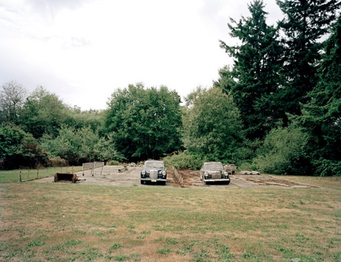 Lanning Shields. Two Benzes. Archival inkjet print, 2008. 30 x 40 in.
