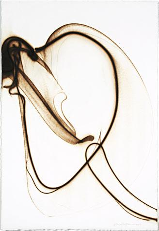 Etsuko Ichikawa. Trace 597. Pyrograph, 2007.