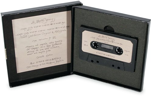 La Monte Young. Drift Study. 1988 reissue of cassette for SMS #4, 1968.