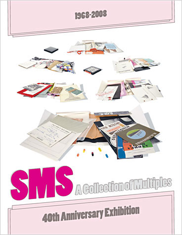 SMS Catalog for Davidson Galleries exhibition, 2008. Design by Shaun Kardinal.