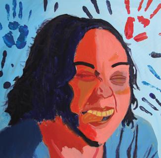 Self Portrait of Arts Connect participant. Via City Arts Magazine.