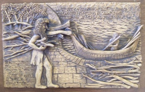 The Epic of Gilgamesh, Tablet XI: The Deluge. Via mythstories.com.