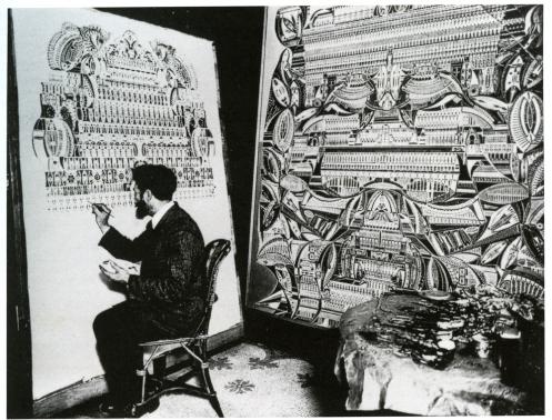 Augustin Lesage in the studio.