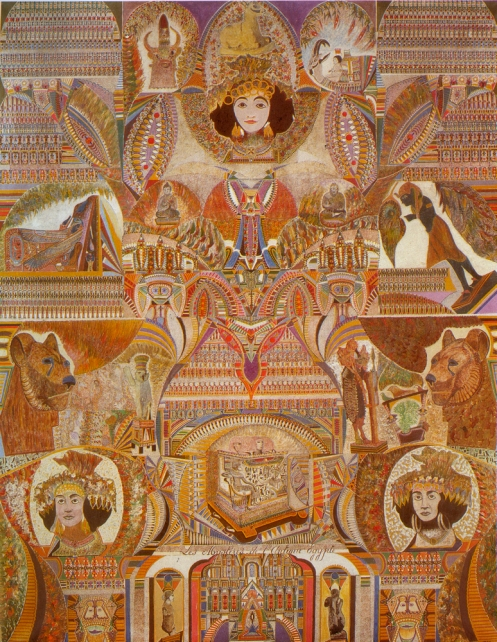 Augustin Lesage. The Mysteries of Ancient Egypt.