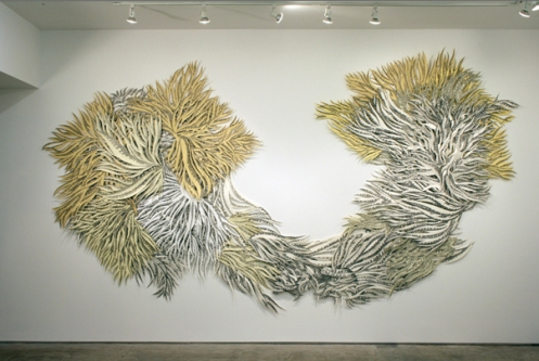 Natasha Bowdoin. Alice. Graphite on cut paper, 2009. Dimensions variable.