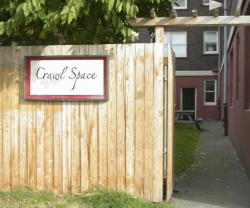 Crawl Space Fence
