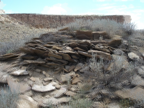 Brendan Jansen. Still from No Chasm, No Cleft (Chaco Canyon). DVD, 2009.