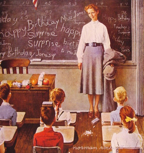 Norman Rockwell - Surprise