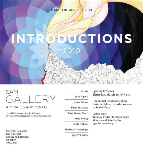 Introductions 2010 - Seattle Art Museum Rental Sales Gallery