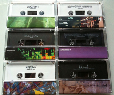Gift Tapes - Summer 2010 releases