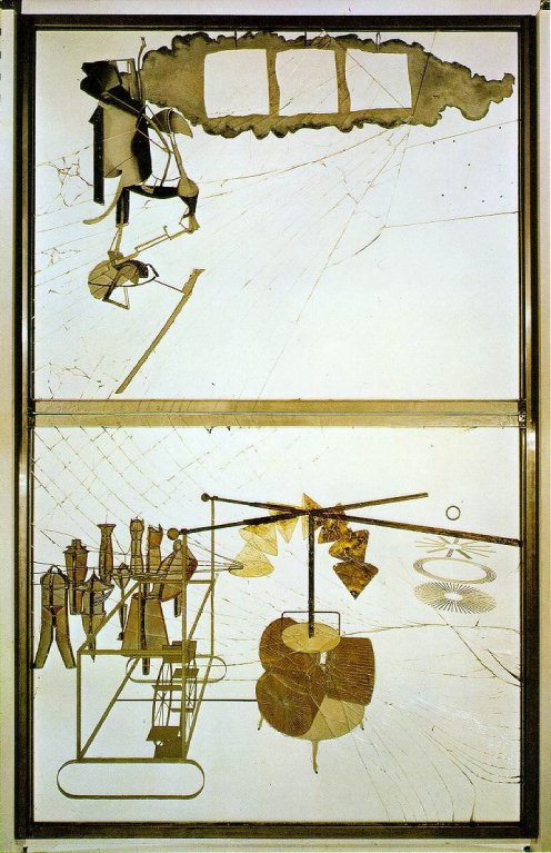 Marcel Duchamp - The Bride Stripped Bare