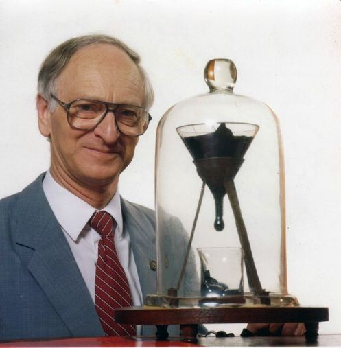 John Mainstone - Pitch Drop Experiment