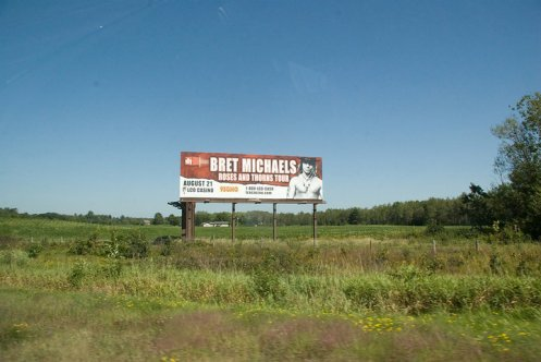 Paul Yurkovich - Bret Michaels billboard