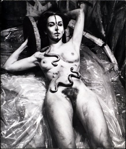 Carolee Schneemann - Eye Body