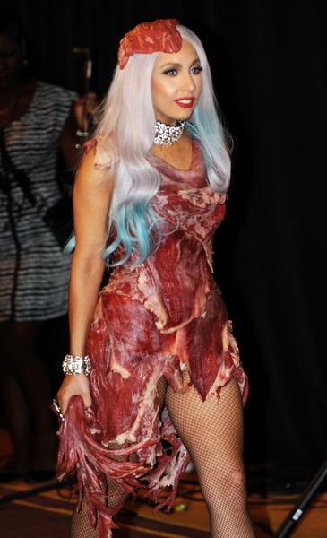 Lady Gaga - meat dress