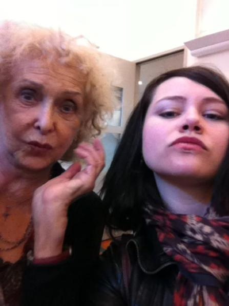 Carolee Schneemann and Emily Pothast