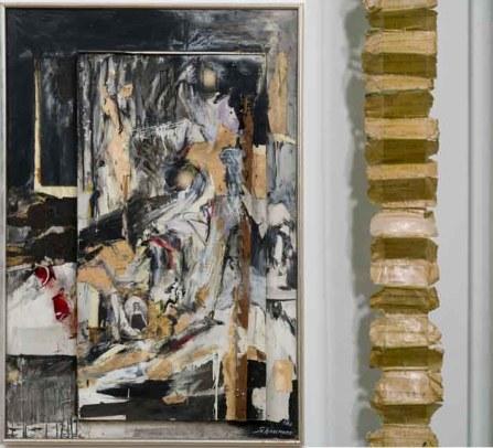 Carolee Schneemann - Mysterious vertical lines