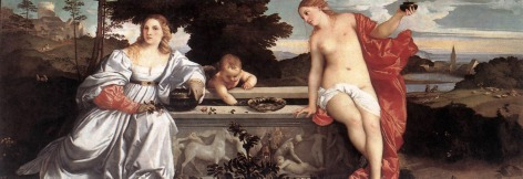 Titian - Sacred and Profane Love