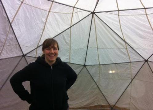 Rena Bussinger at SPACE d'OM