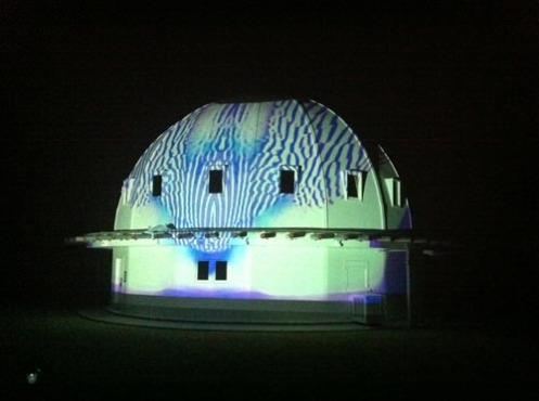 Video feedback on The Integratron