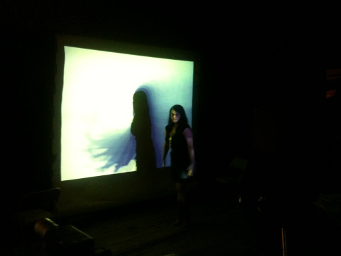 Emily Pothast at Experimental Television Center