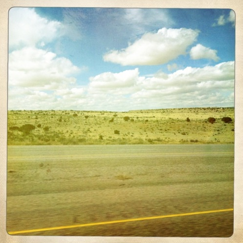 West Texas roadside