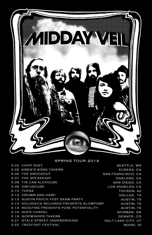 Midday Veil On Tour Now