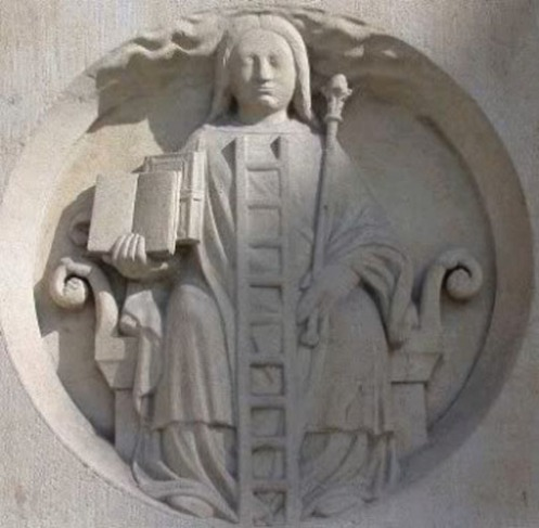 Bas-relief on the Great Porch of Notre-Dame, Paris