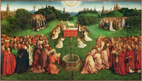 Jan Van Eyck, The Adoration of the Mystic Lamb