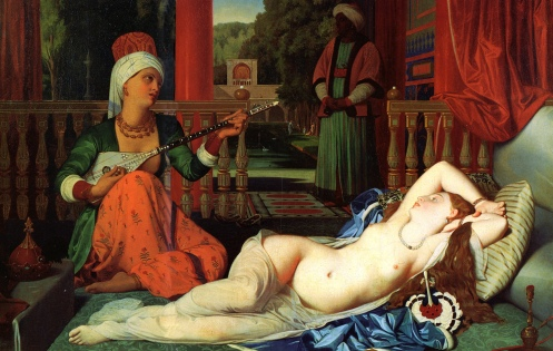 Ingres - Odalisque with a Slave
