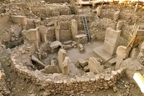 Excavation site of Göbekli Tepe in Turkey, possibly the oldest known temple in the world (c. 10,000 BCE)